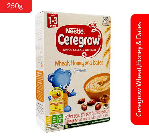 Ceregrow Wheat,Honey & Dates 250g