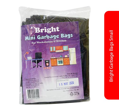Bright Garbage Bags Small